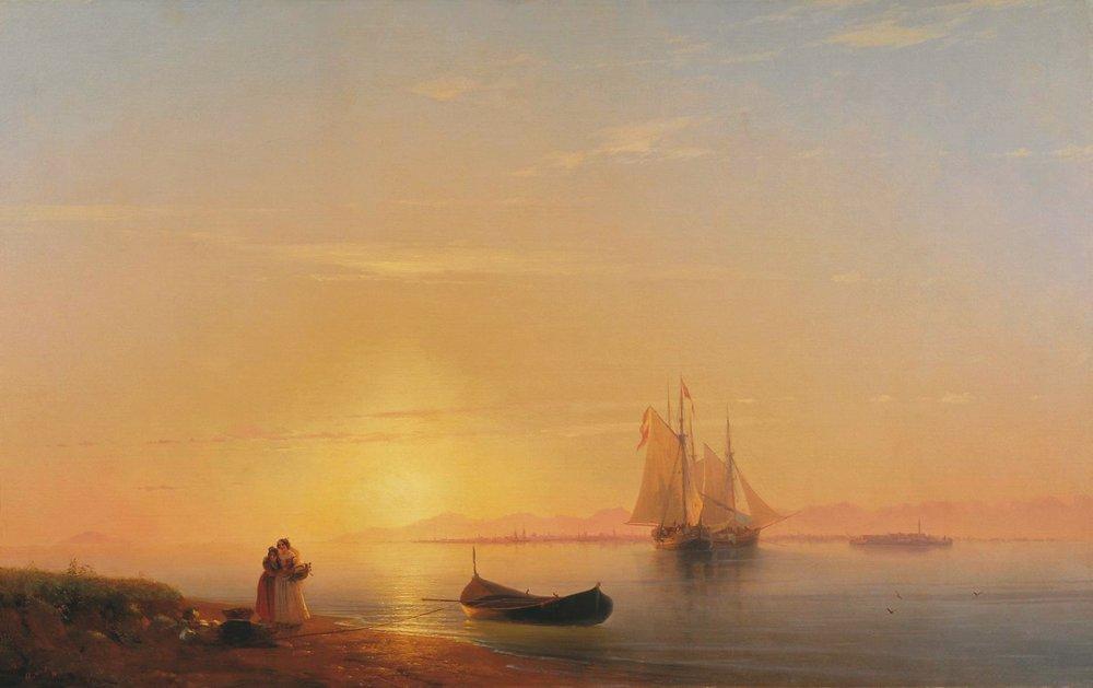 берега далмации 1848