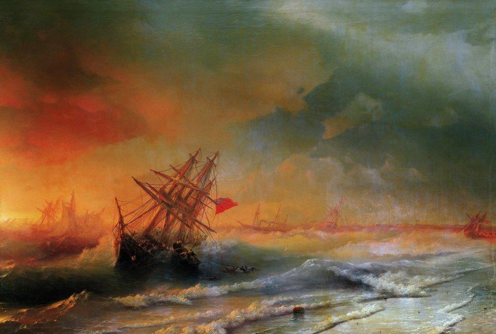 буря над евпаторией 1861