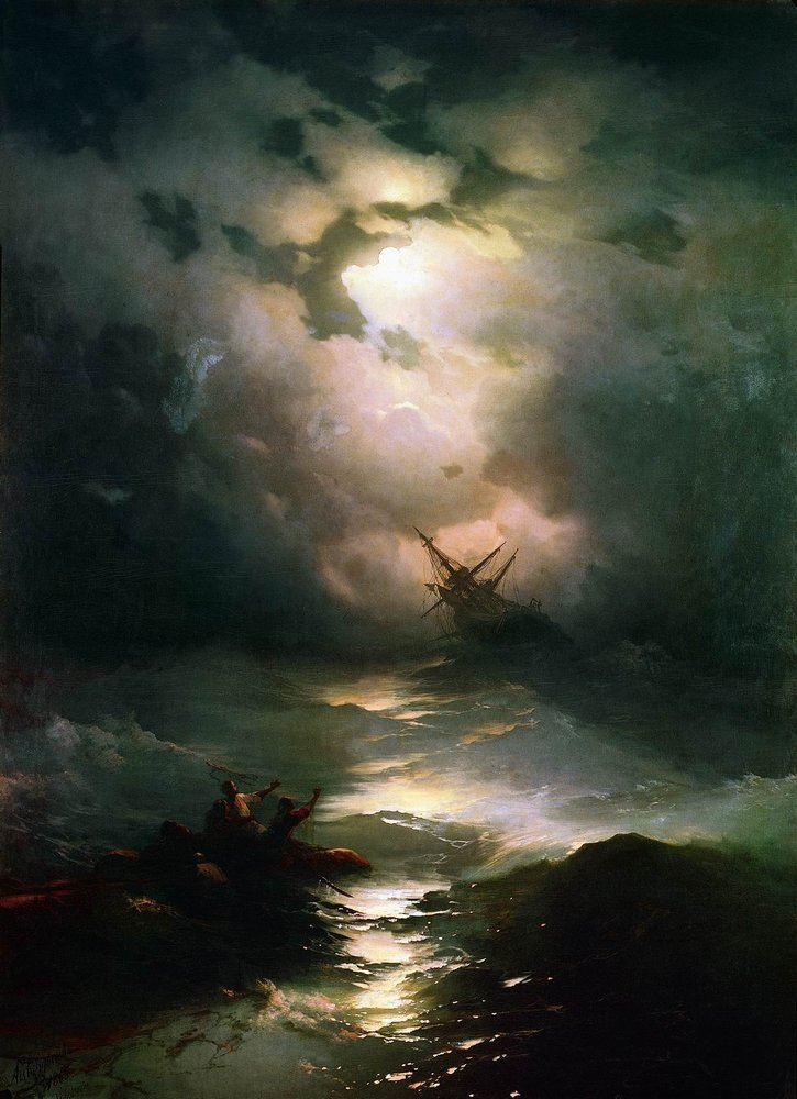 буря на северном море 1865