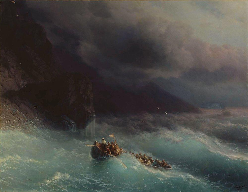 буря на черном море 1873