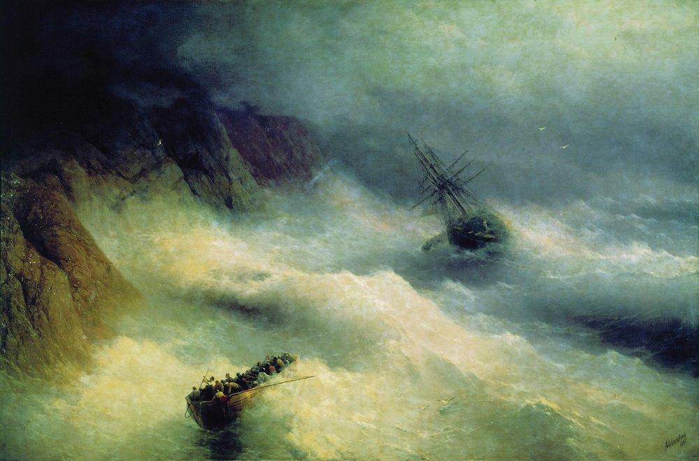 буря у мыса айя 1875