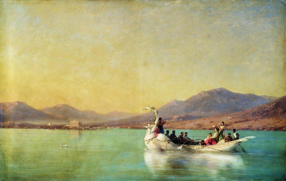 венчание поэта в древней греции 1886