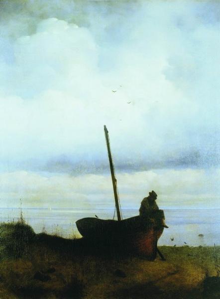 вид на взморье в окрестностях Петербурга 1835