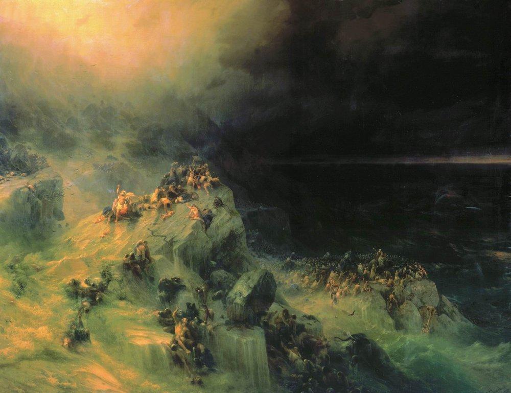 всемирный потоп 1864