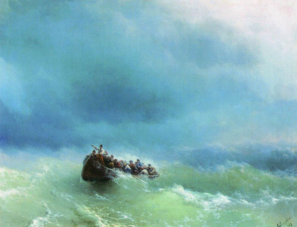 в бурю 1872