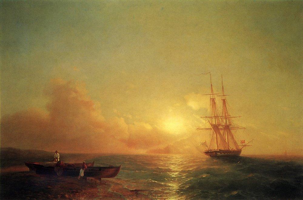 двадцатишести-пушечный корабль 1852
