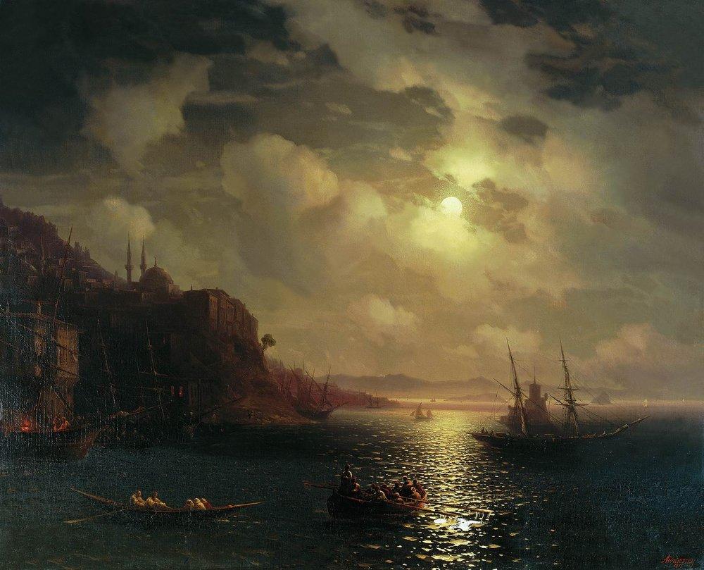 золотой рог. босфор 1872
