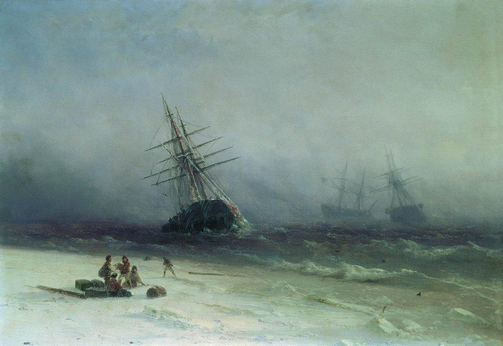 кораблекрушение в северном море 1875