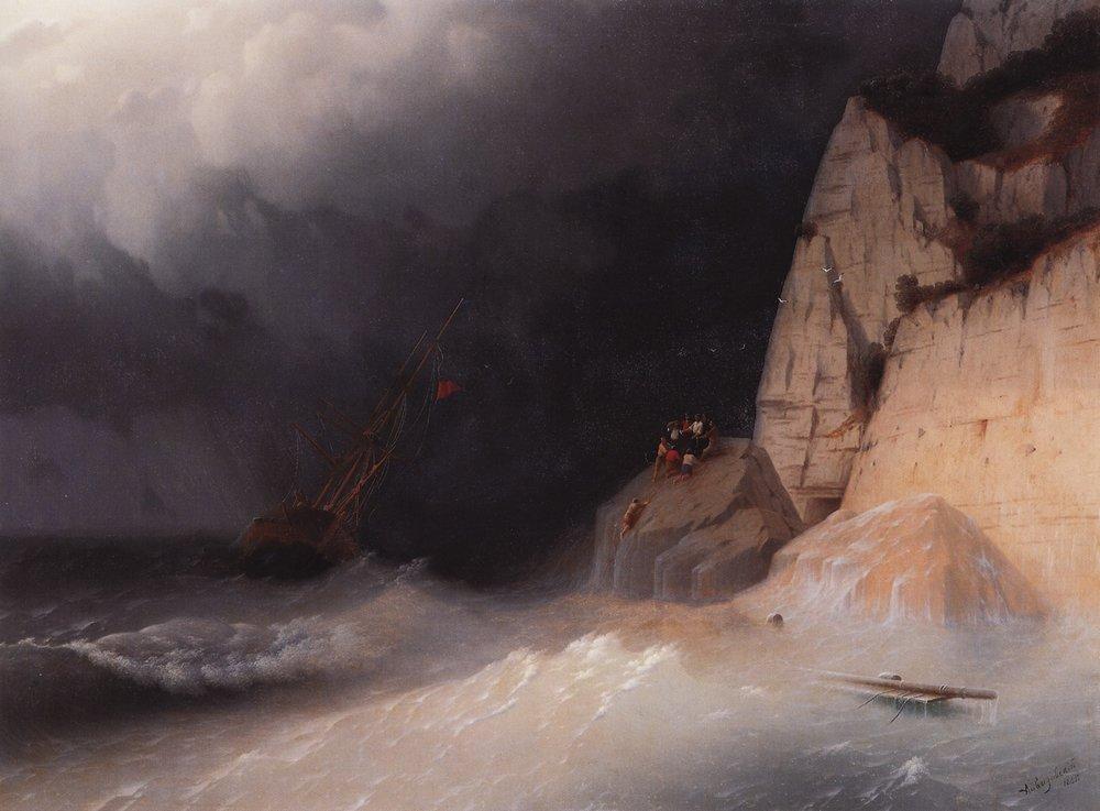 кораблекрушение 1865