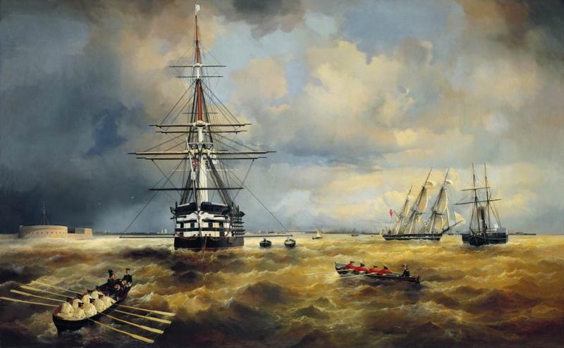 кронштадтский рейд 1840