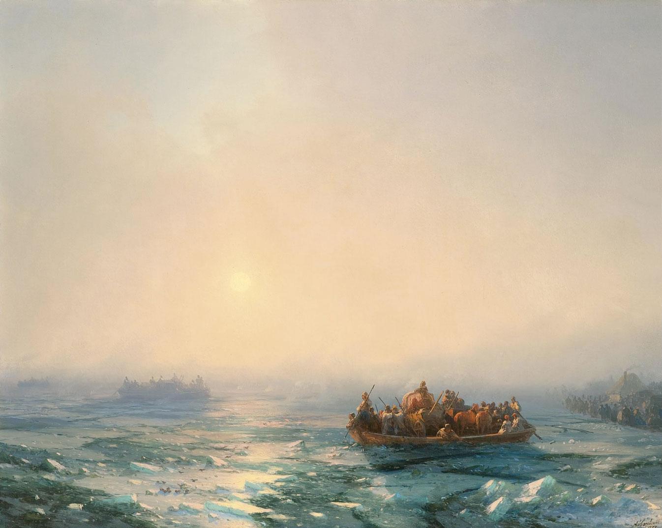 лед на днепре 1872