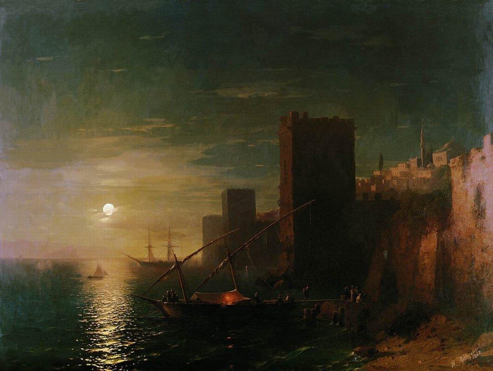 лунная ночь в константинополе 1862