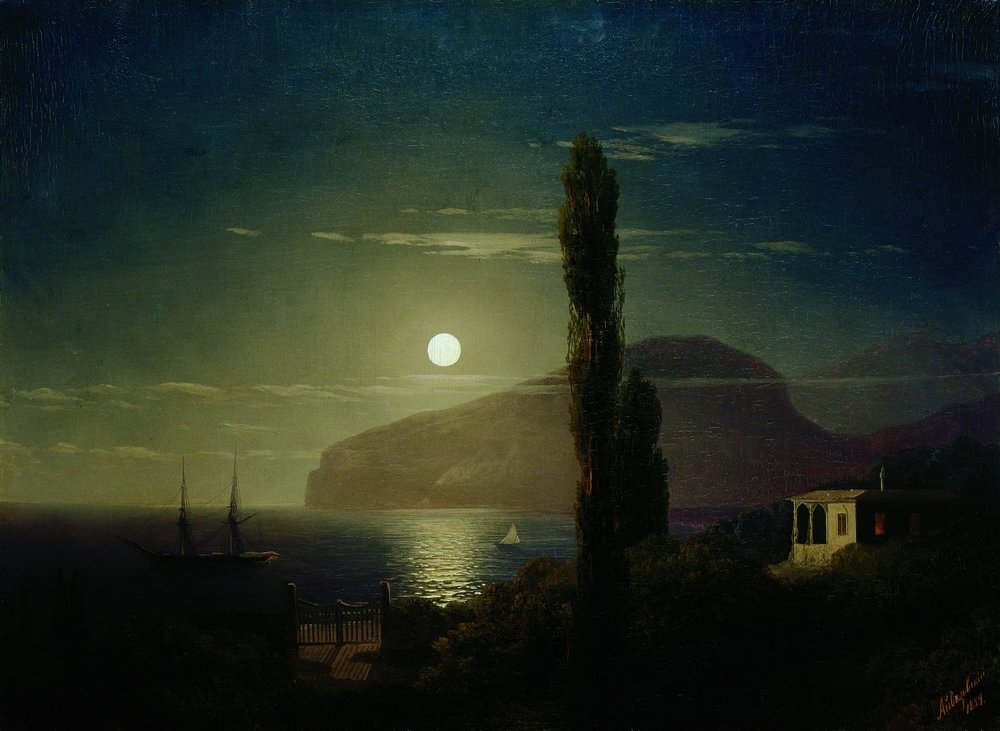 лунная ночь в крыму 1859