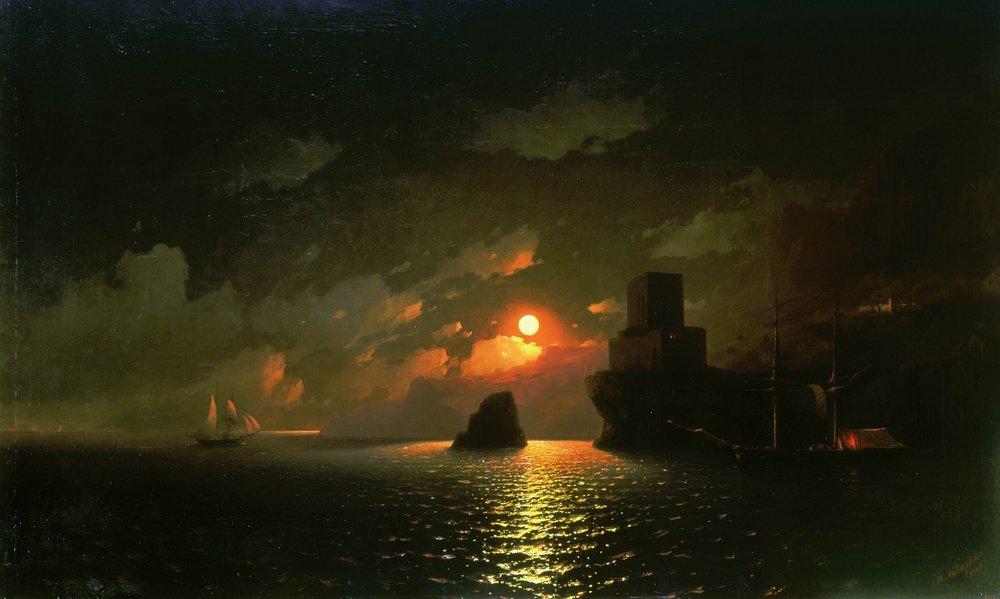 лунная ночь 1849