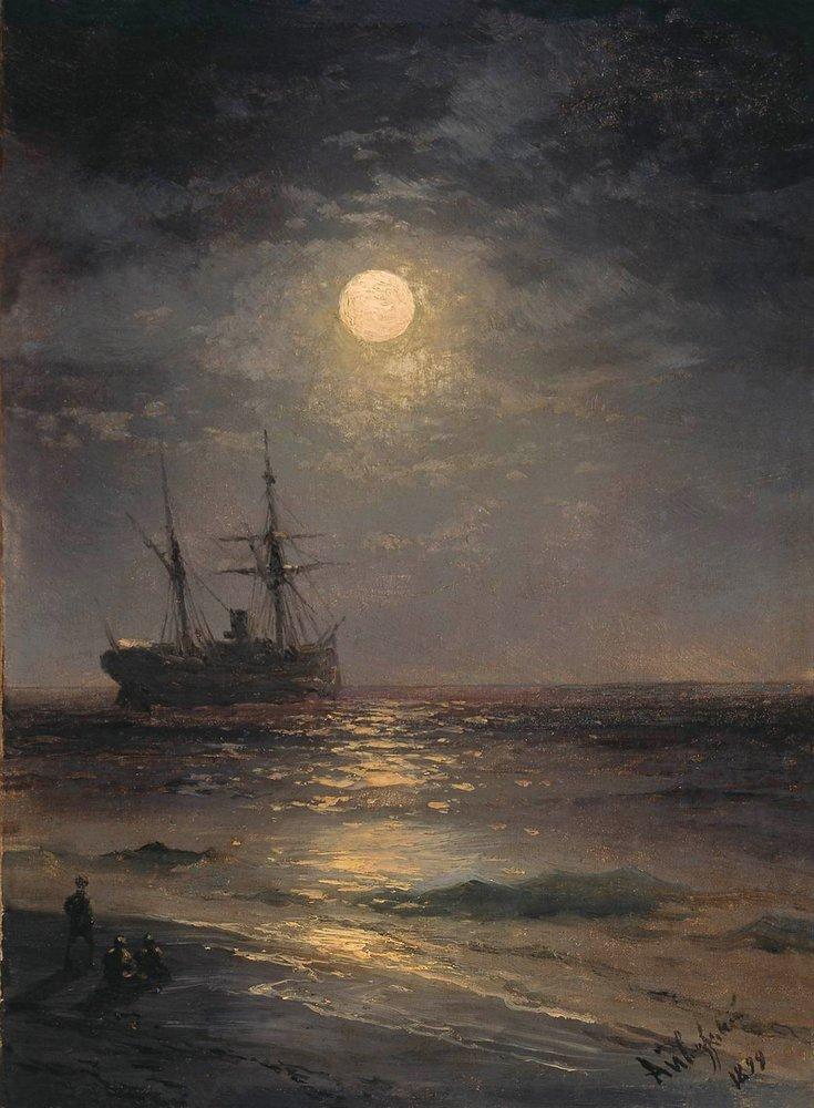 лунная ночь 1899