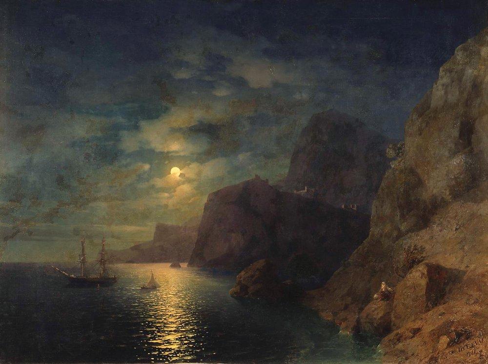 море ночью 1861