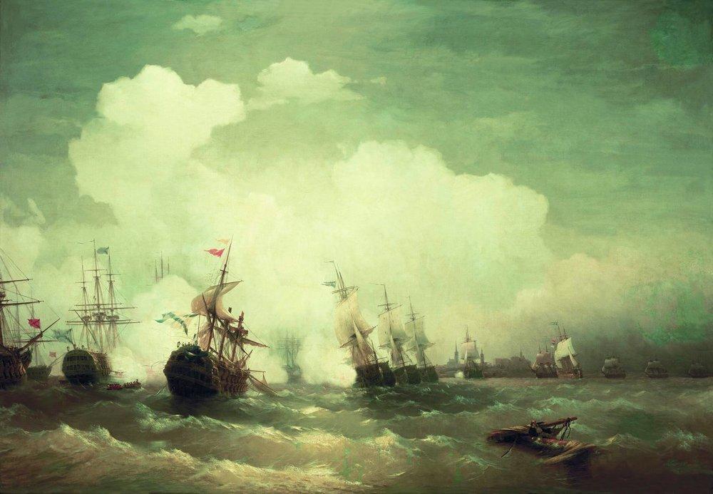 морское сражение при ревеле 2 мая 1790 (1846)