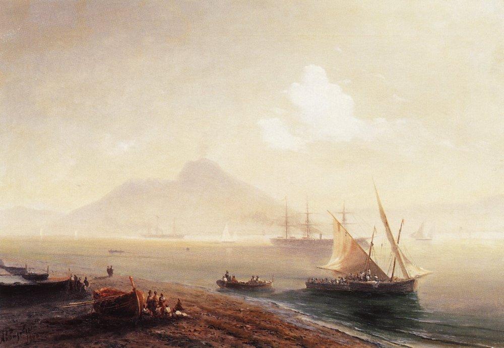 морской залив 1900