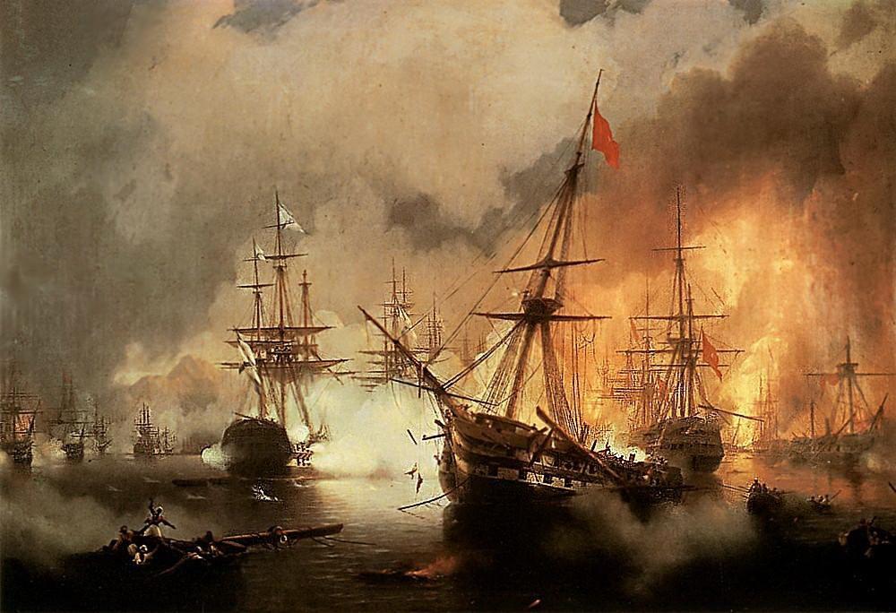 наваринский бой 1846