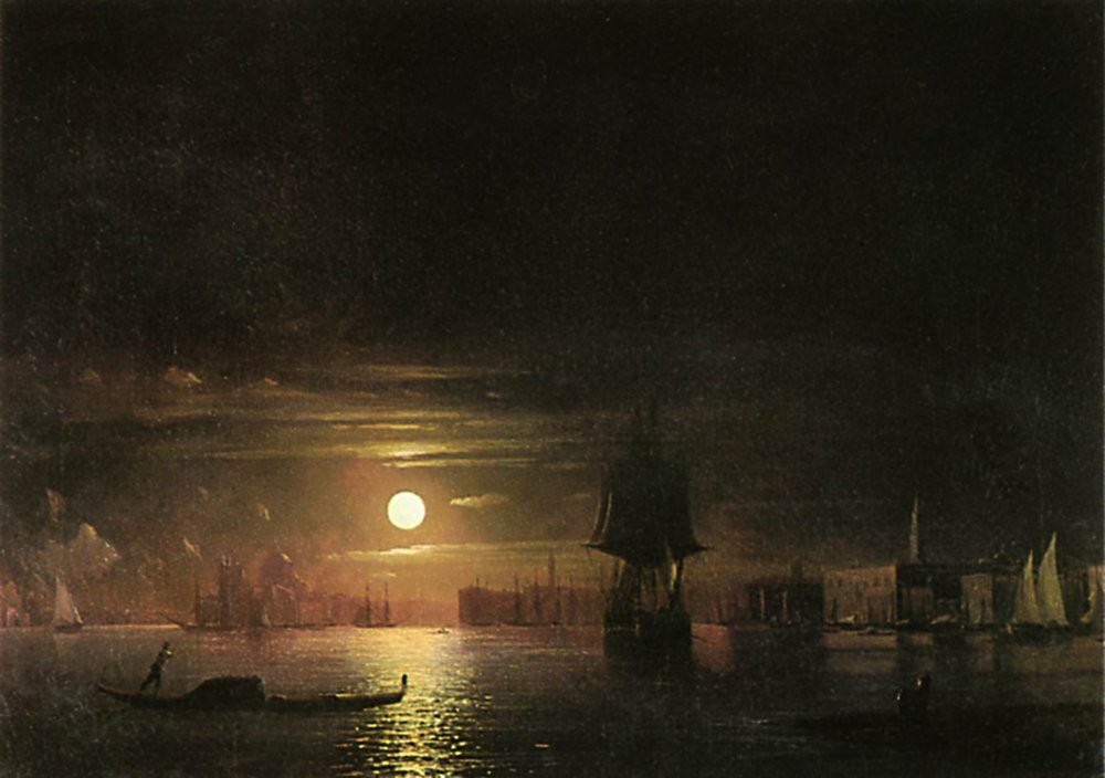 ночь в венеции 1861