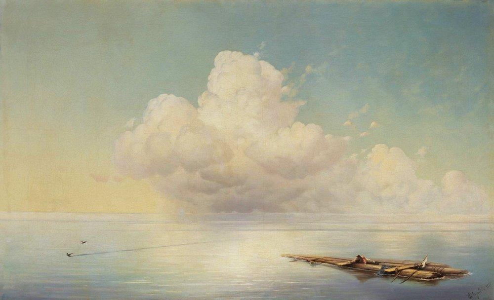 облако над тихим морем 1877