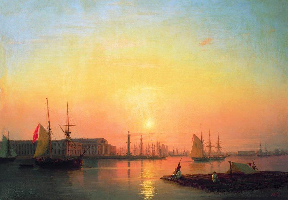 петербургская биржа 1847