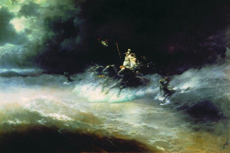 путешествие посейдона по морю 1894