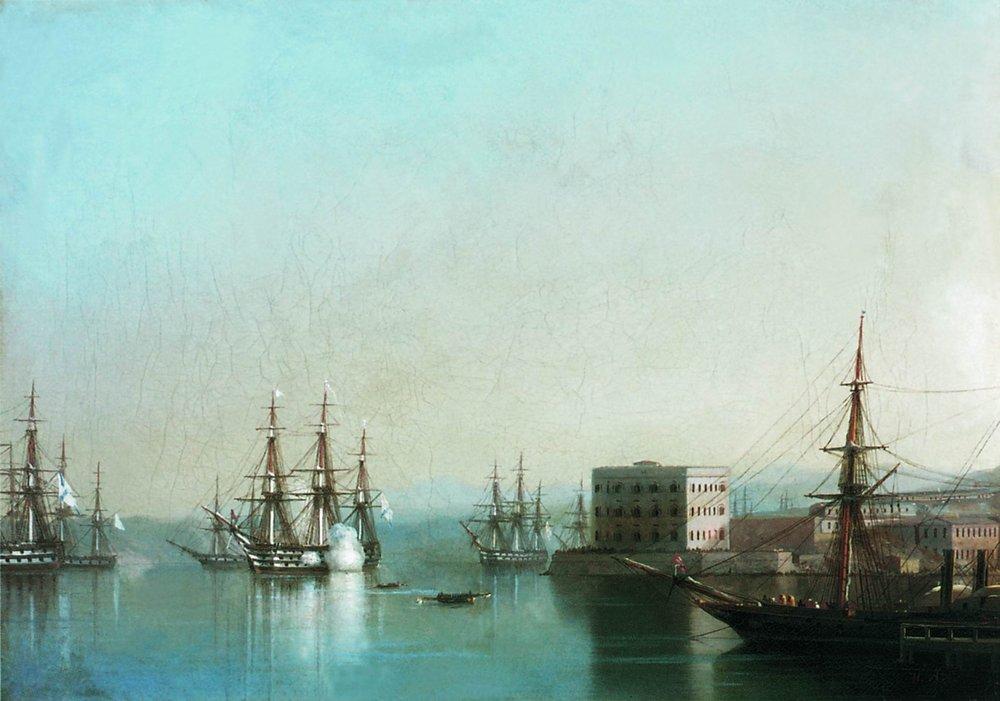 севастопольский рейд 1852