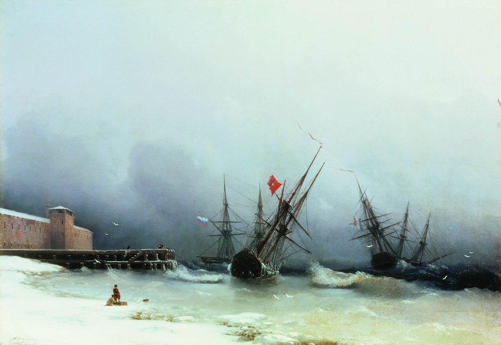 сигнал бури 1851