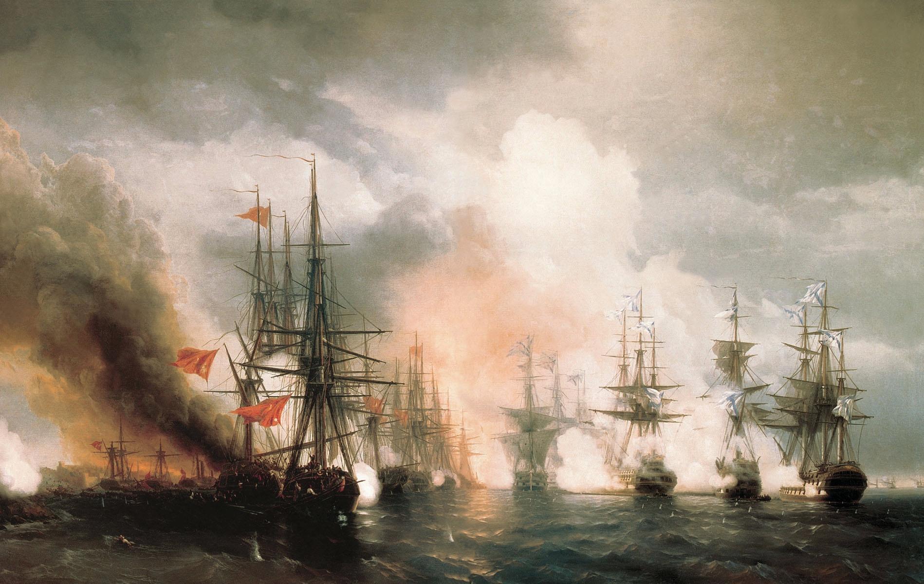 синопский бой 1853
