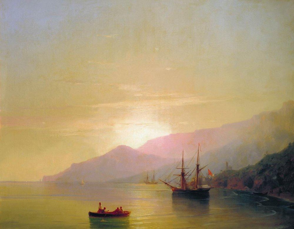 суда на рейде 1851