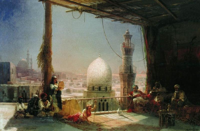 сцены из каирской жизни 1881