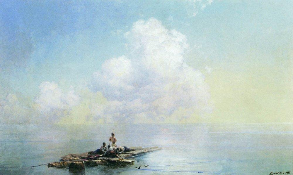 утро после бури 1888