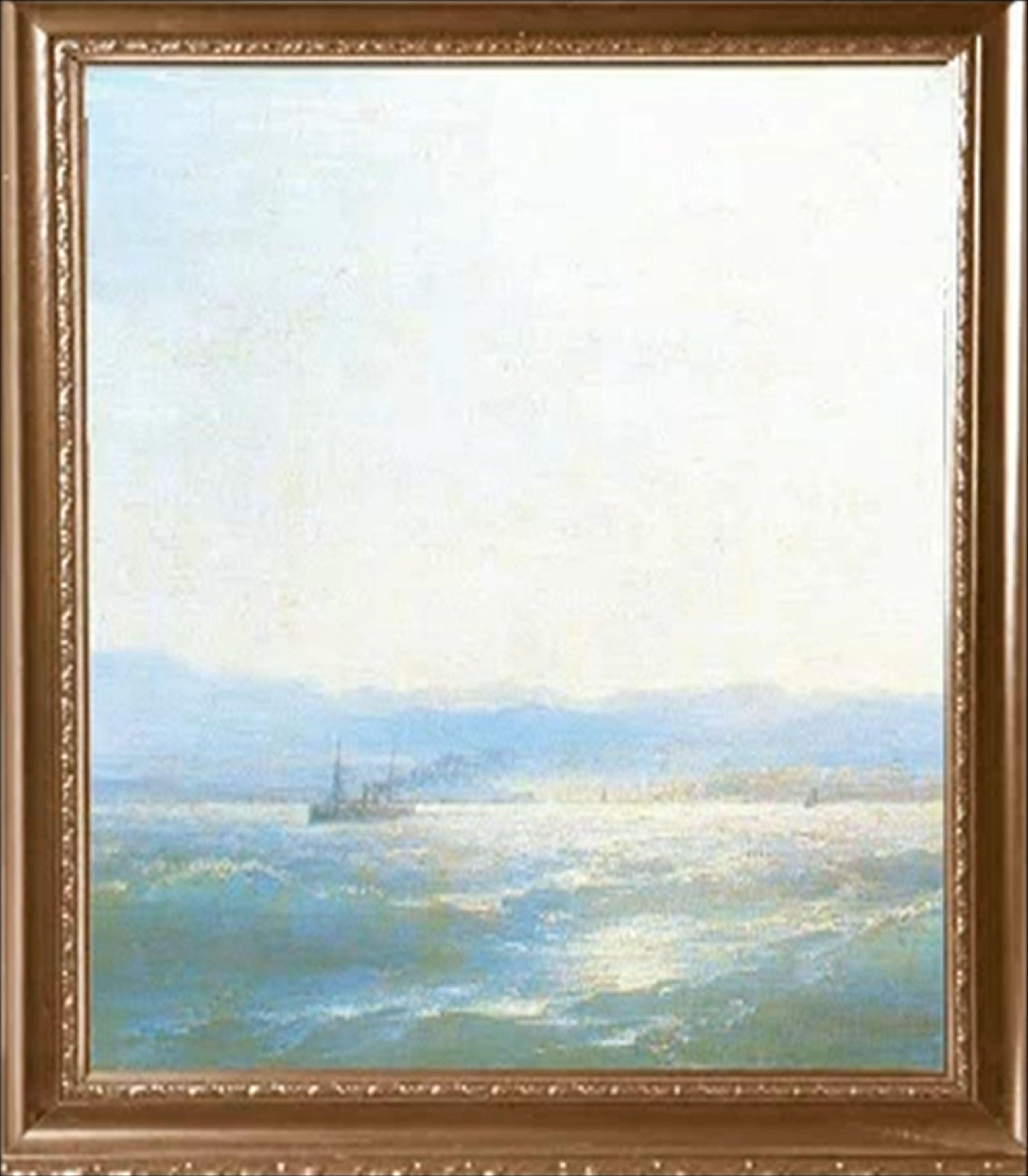 этюд воздуха над морем