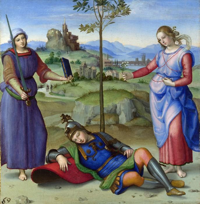 Аллегория (Сон рыцаря) 1504
