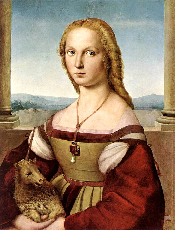 Дама с единорогом. 1505