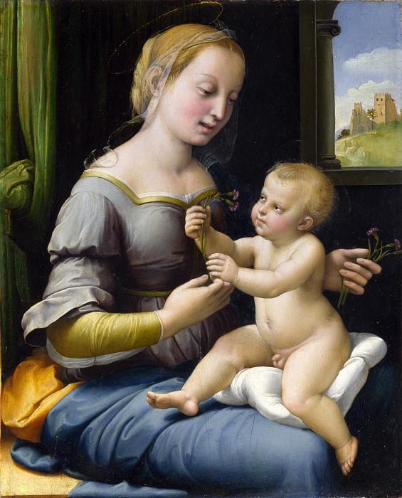 Мадонна с гвоздиками 1506-07
