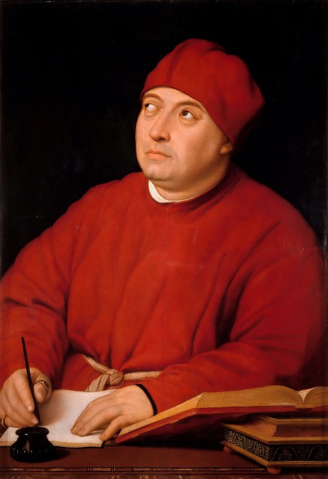 Портрет Томмазо Ингирами 1515-16