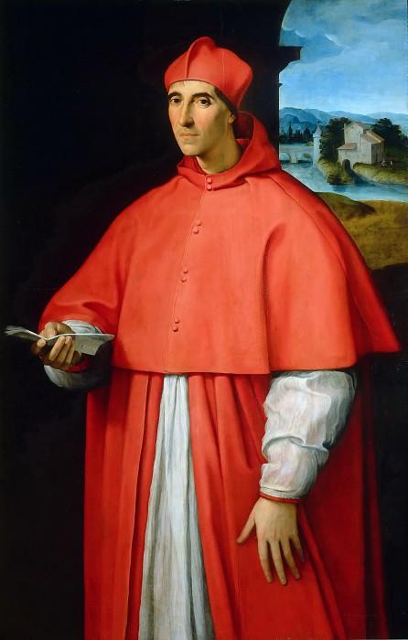 Портрет кардинала Алессандро Фарнезе 1509-11
